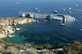 Dramma in Toscana: naufragio Costa Crociere – Nave Concordia