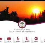iBrunello, app consorzio brunello di montalcino, tourism in tuscany