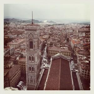 Duomo di Firenze immagine scattata con Instagram, courtesy Opera di Santa Maria del Fiore