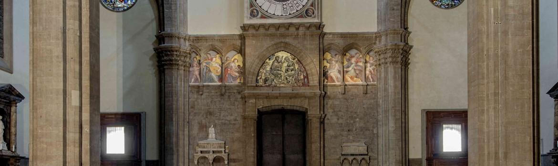 Restauro dell'orologio del Duomo di Firenze dipinto da Paolo Uccello
