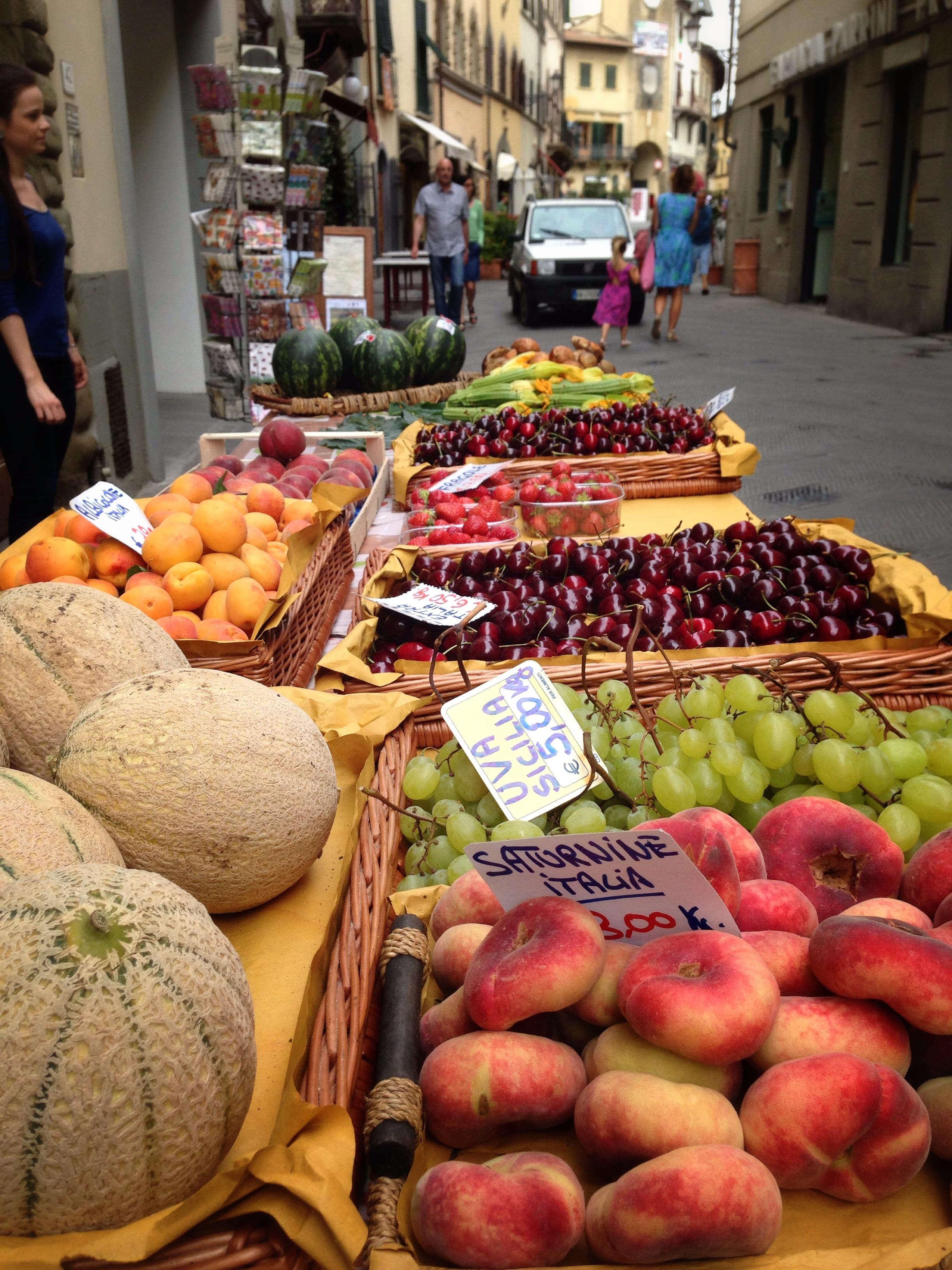 san casciano, tuscany, florence, fruits