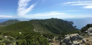 Isola di Capraia - Capraia island (elba e corsica sullo sfondo)