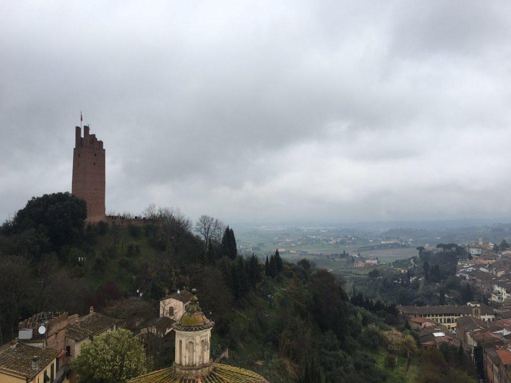 San Miniato, torre di Federico II, panorama