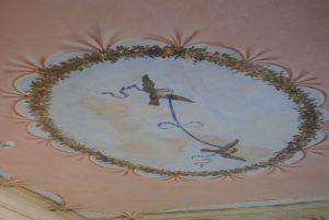 sala del nodo d'amore, villa di san martino, isola d'elba