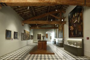 Sala della Cattedrale nel Museo di San Pietro, colle di val d'elsa