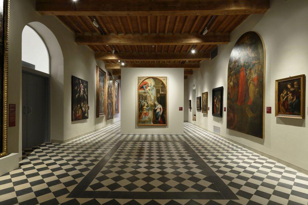 Sala del Museo diocesano, Museo San Pietro, Colle di Val d'Elsa