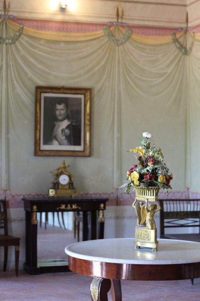 sala egizia, villa di san martino, isola d'elba