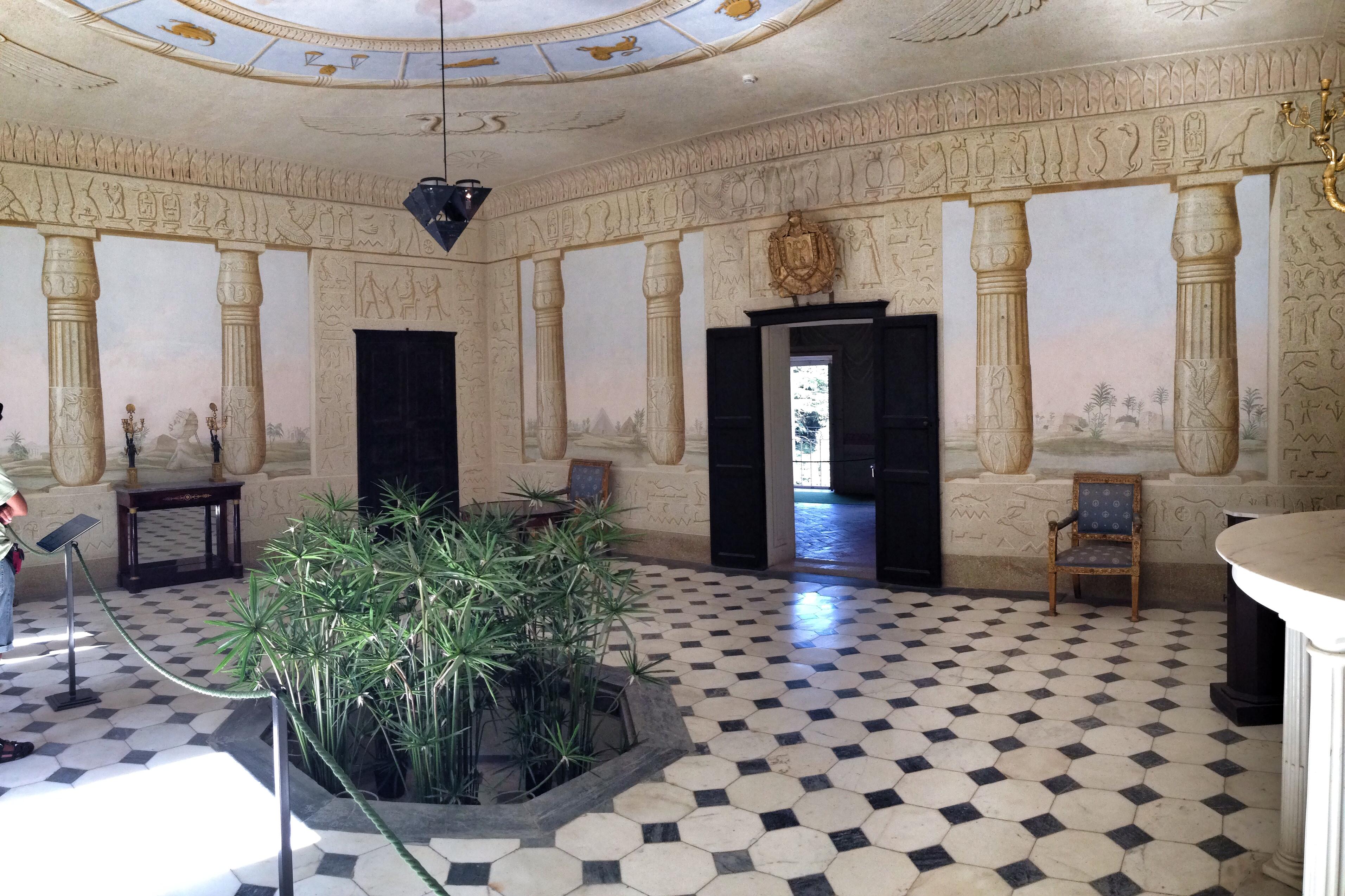 Interni Di Villa San Martino : Museo napoleone bonaparte: isola delba