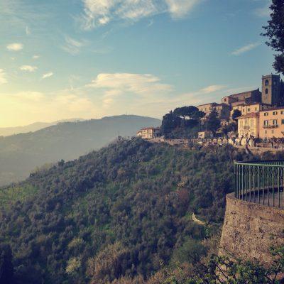 Montecatini alto, panorama