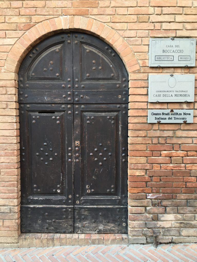 Certaldo - Casa Giovanni Boccaccio