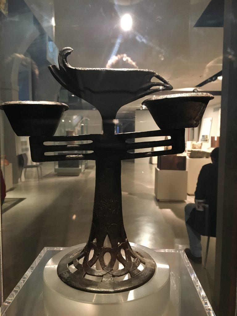 Museo Archeologico di Artimino - Incensiere di Bucchero