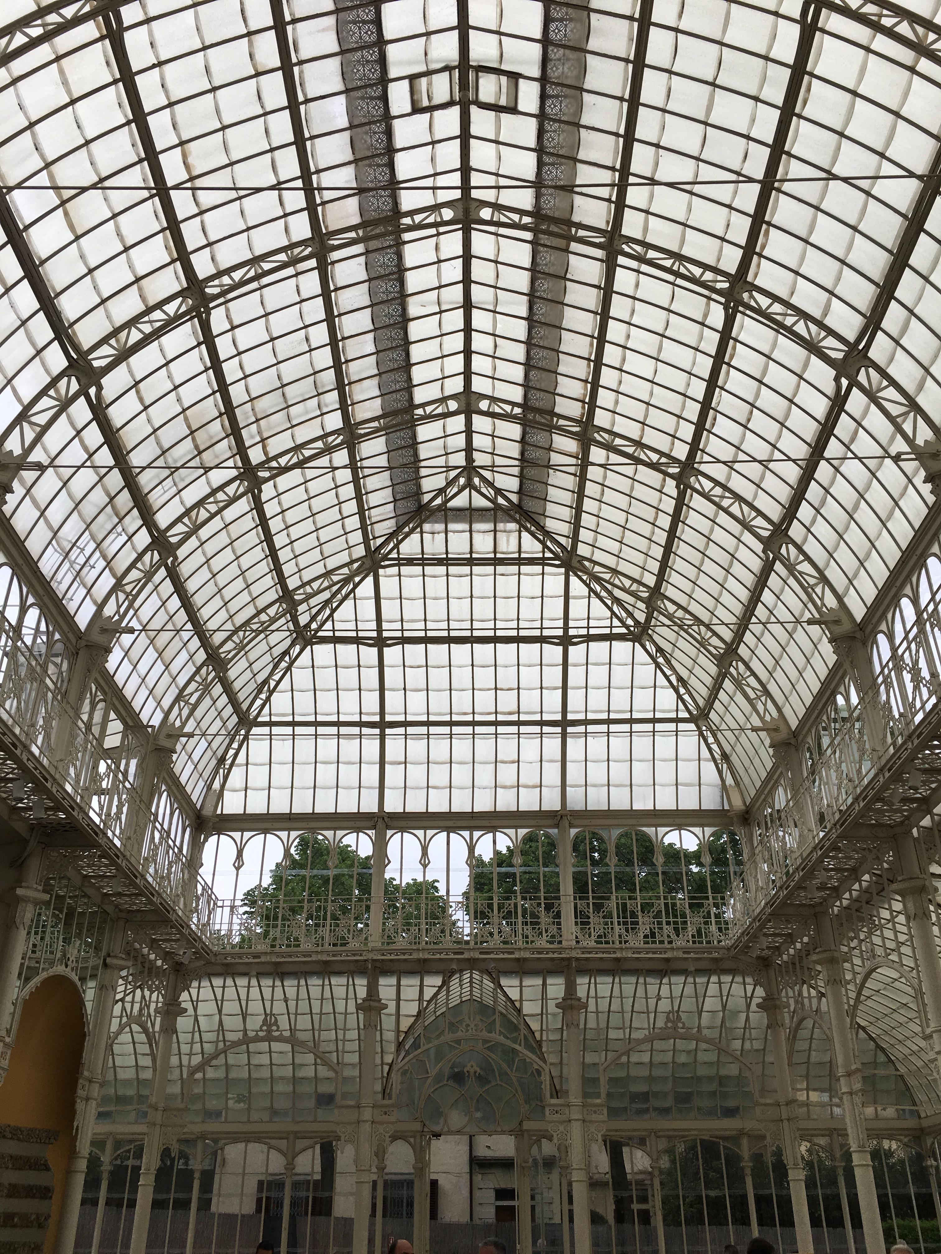 tepidario di roster, firenze, giardino dell'orticultura